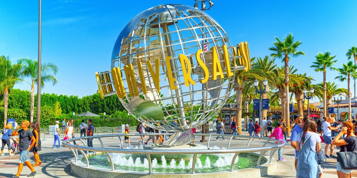 Welcome to Universal Studios Hollywood