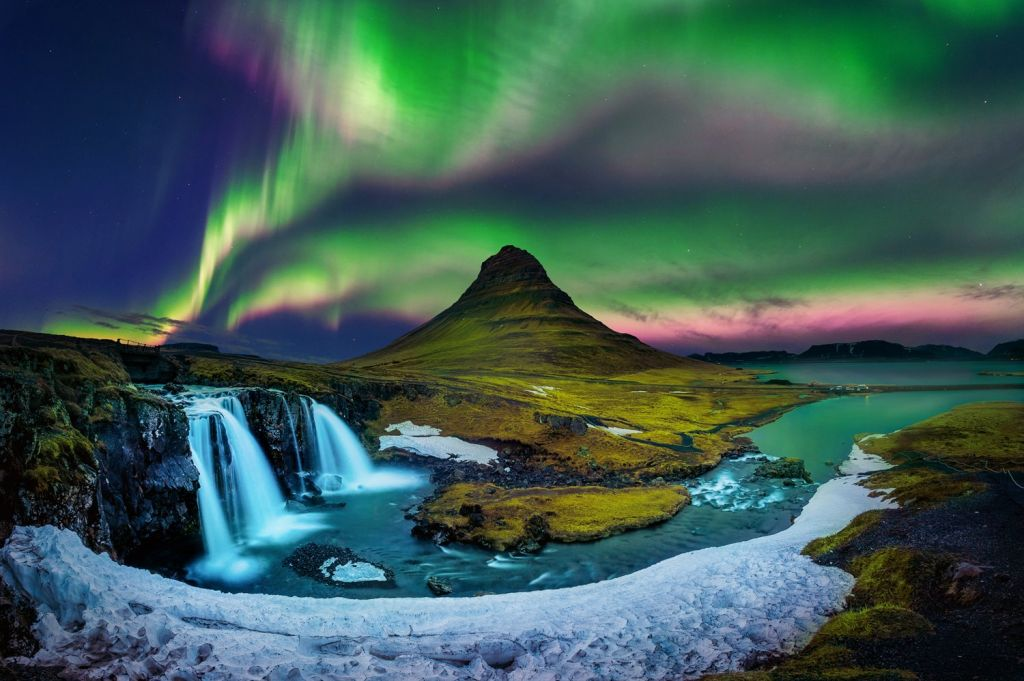 Auroras in Northern Europe 1