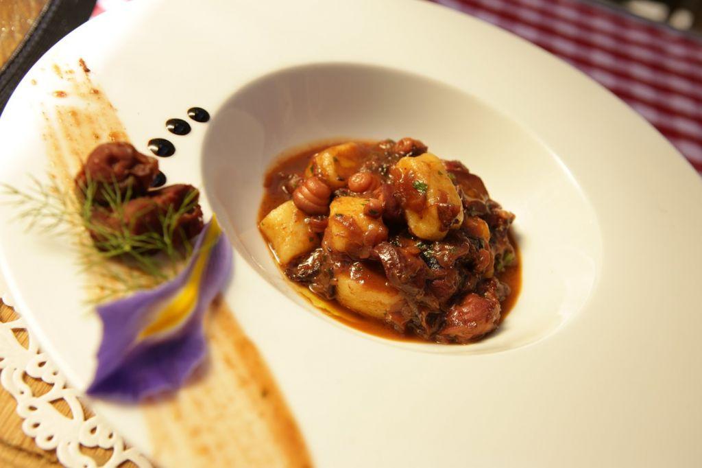 Pasticada with Gnocchi