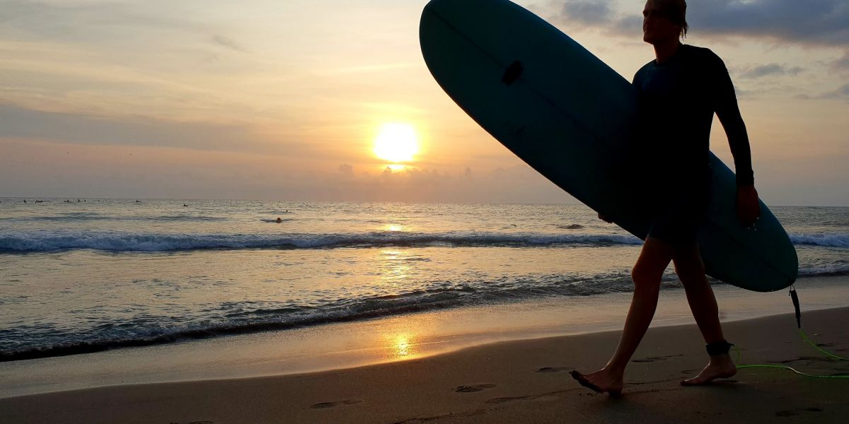 Canggu, Catch Waves from Sunrise to Sunset