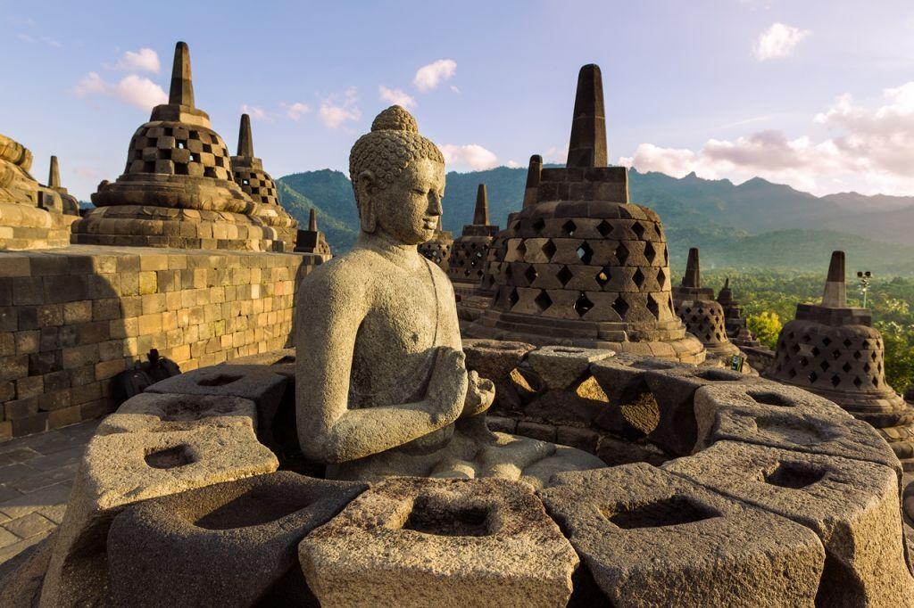 Buddha  statue Indonesia
