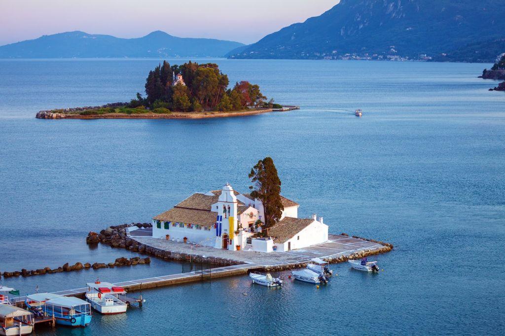 Take A Tour Of Corfu, Achilleion Palace, Kanoni, And Old Tow