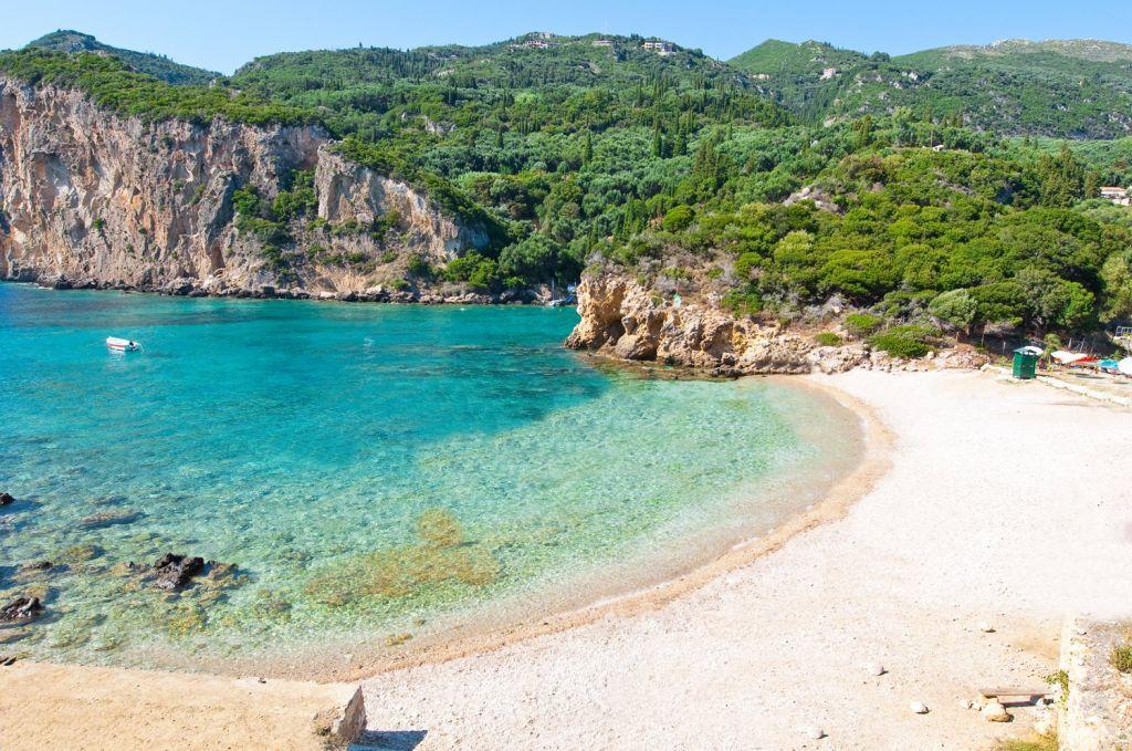 Visit the beautiful beaches of Corfu