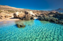 best beaches in Chania