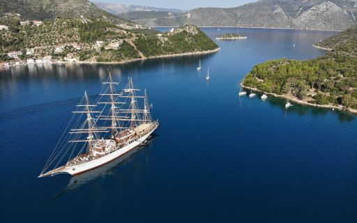 SAILING FROM KEFALONIA TO ITHACA