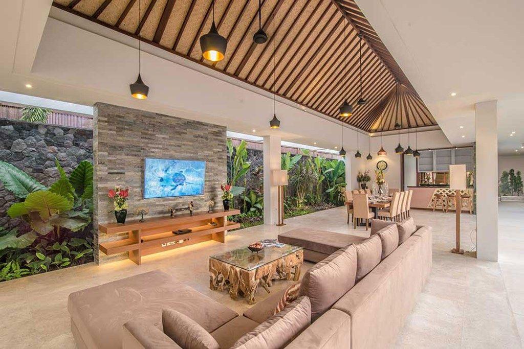 Freedom Villa Bali living room