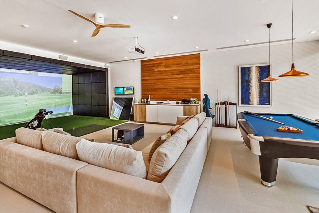 Villa Amarapura Phuket games room