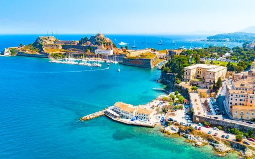 Must - see places in Corfu Island