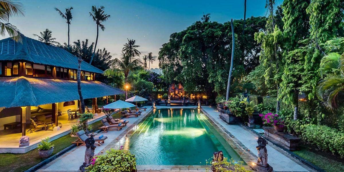 Villa Batujimbar is the epitomizing of Balinese style