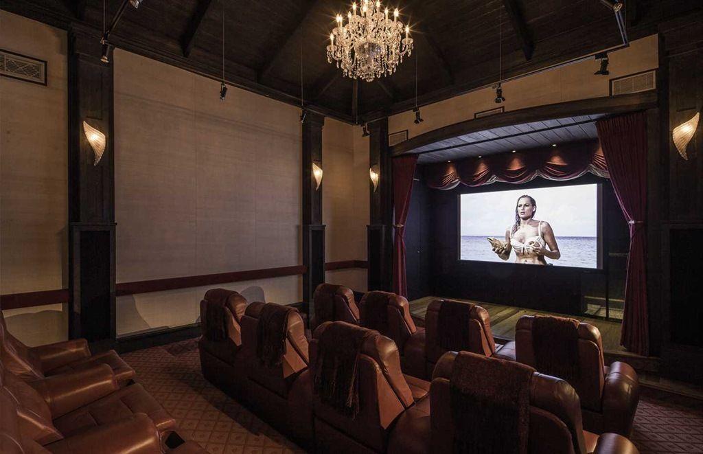 Over Yonder Cay Bahamas cinema