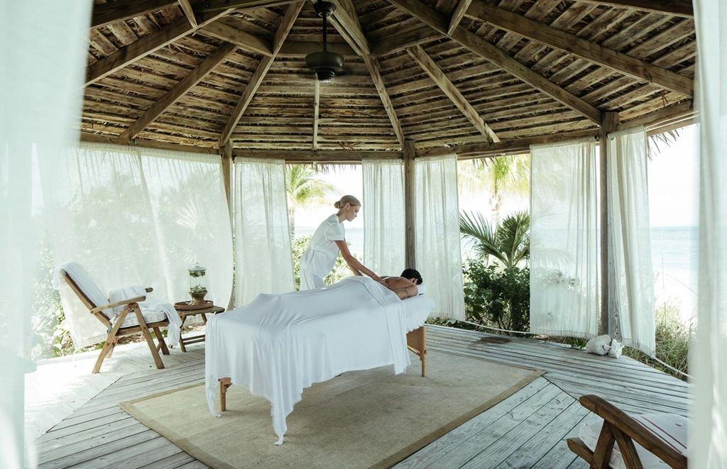 Over Yonder Cay Bahamas massage