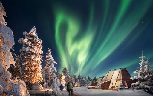 Glass Resort at Snowman World Rovaniemi