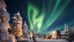 Glass Resort at Snowman World Rovaniemi