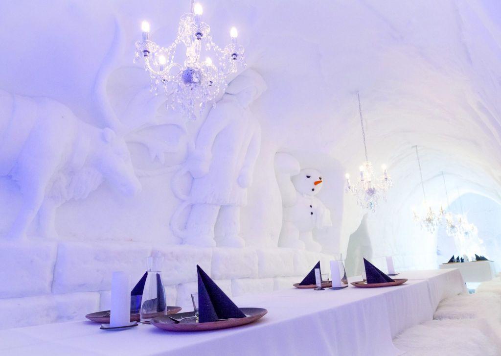 Snowman World Ice Restaurant 1