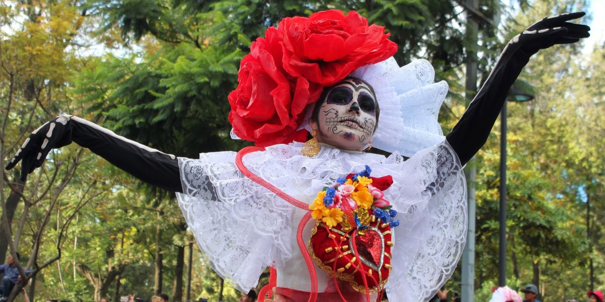Día de Muertos, also known as Day of the Dead in Mexico