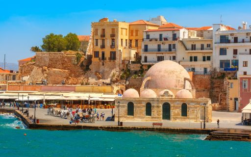 History of Chania in Crete island