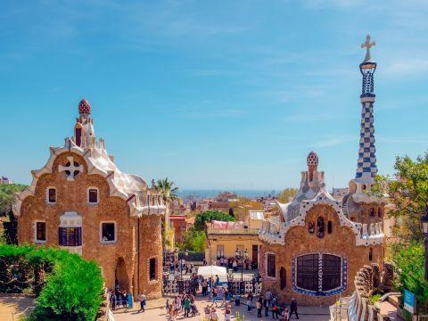 Landscape of Barcelona