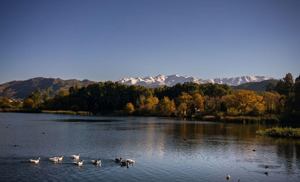 Agia lake Chania