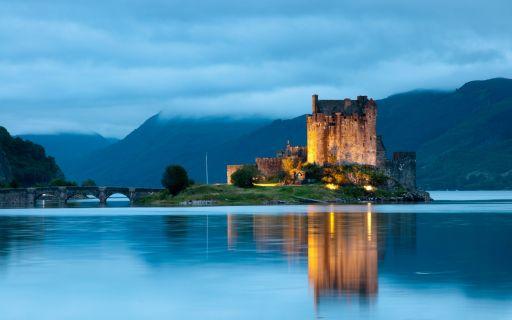 Fairytales castles in Scotland