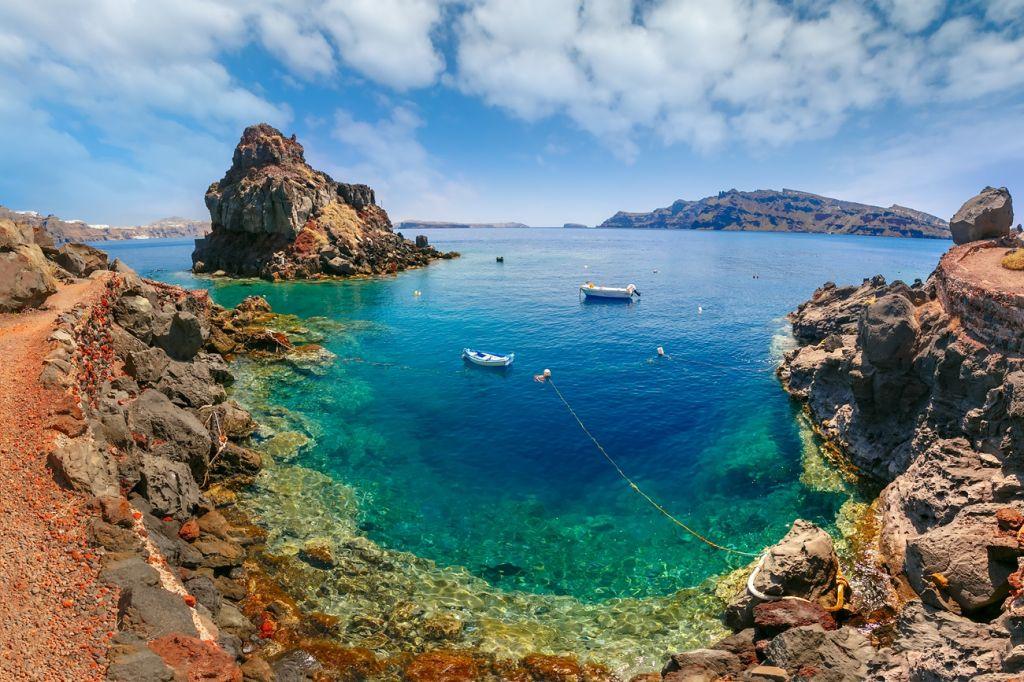 Armeni beach Santorini
