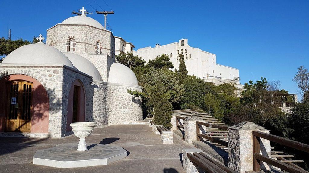 Prophet Elias Monastery Santorini