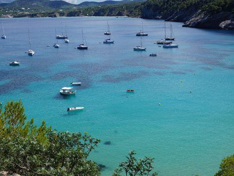 Landscape of Ibiza