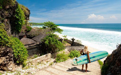 Surf spots in Bali
