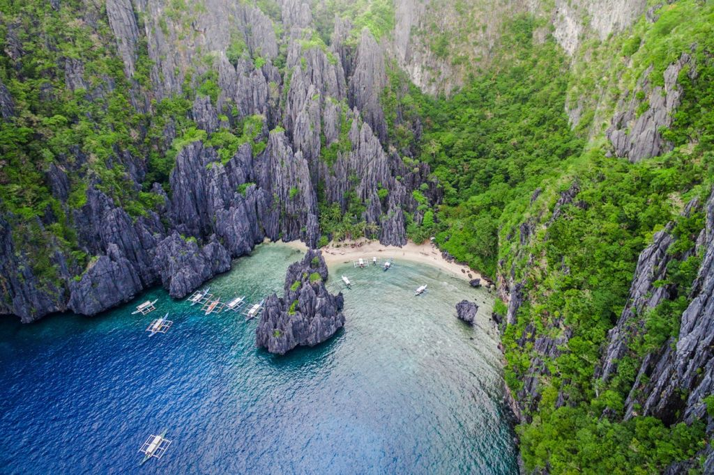 Secret Lagoon Beach Philippines