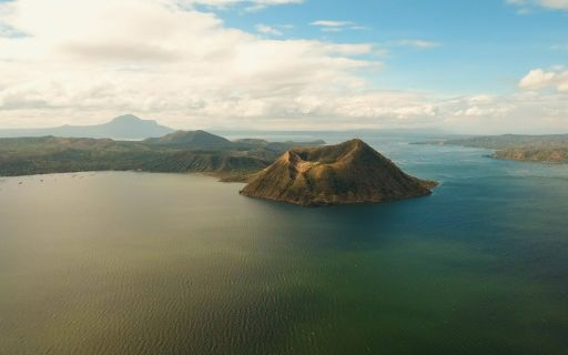 Taal Volcano in the Philippines