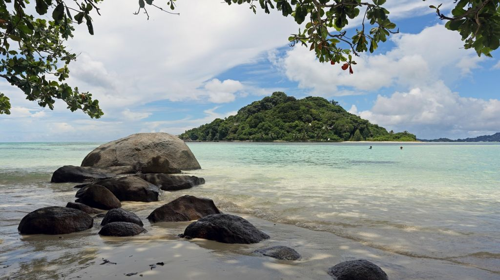 Marine National park Seychelles