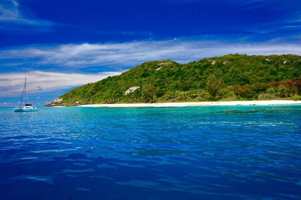 Aride Island natural reserve Seychelles
