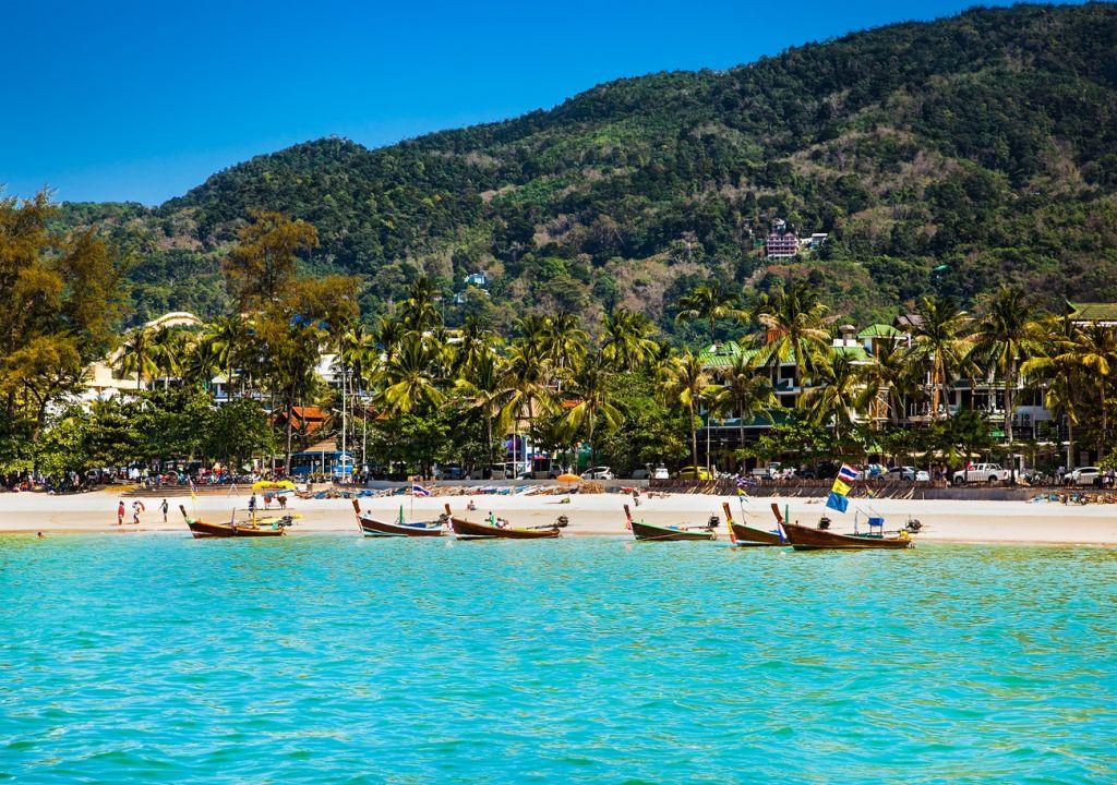 Patong beach Thailand
