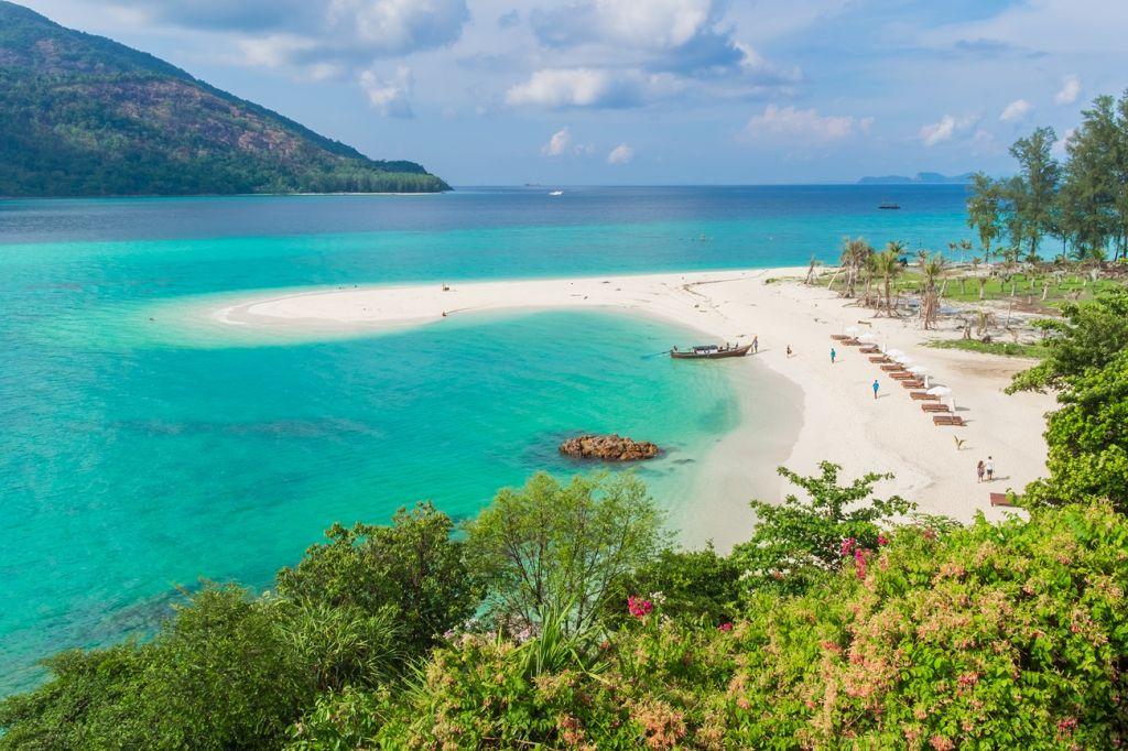 Sunset Beach or Hat Pramong Thailand