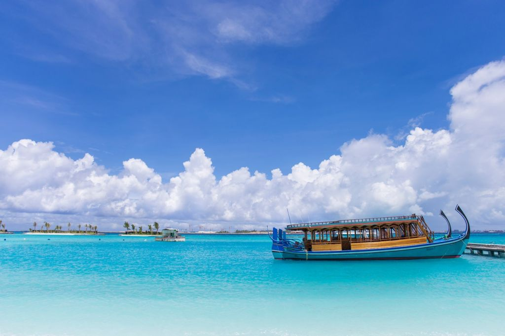 boat Maldives