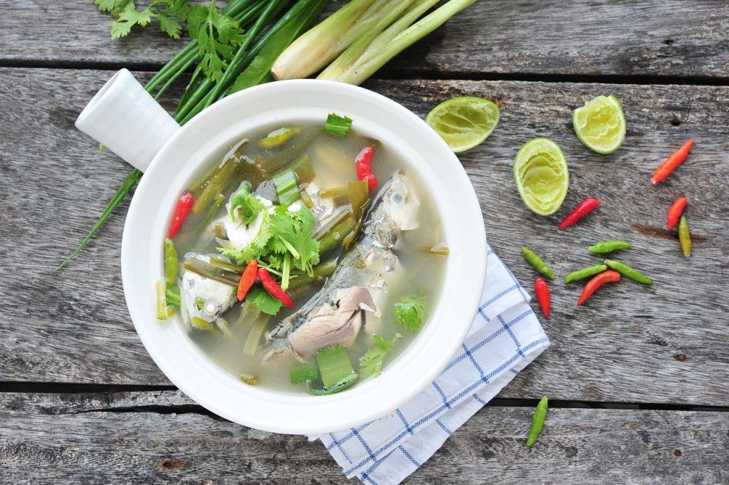 Garudhiya - fish soup