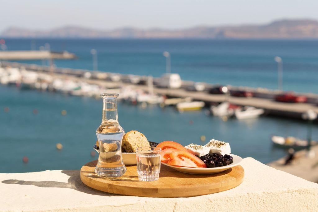 raki Heraklion, Crete