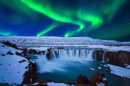 Iceland. One of the best places to see the Northern Lights