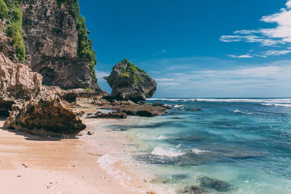 Uluwatu and Kuta, Bali, Indonesia