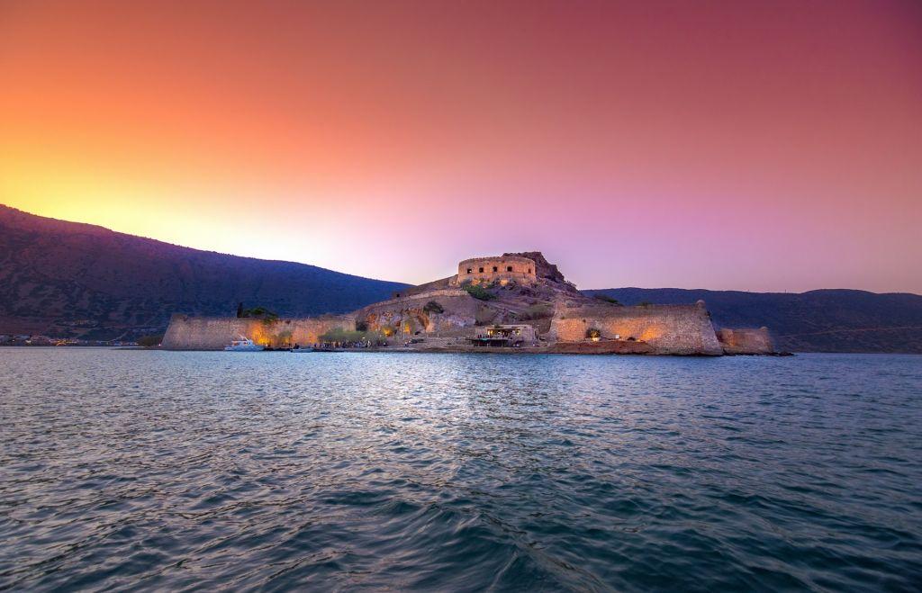 Spinalonga Island Crete