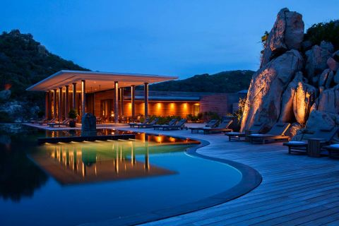 Mountain Pool Villa at Amanoi Resort Vietnam