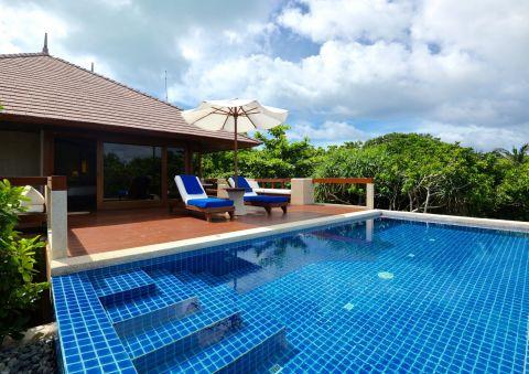 Treetop Pool Casita at Amanpulo Resort Palawan