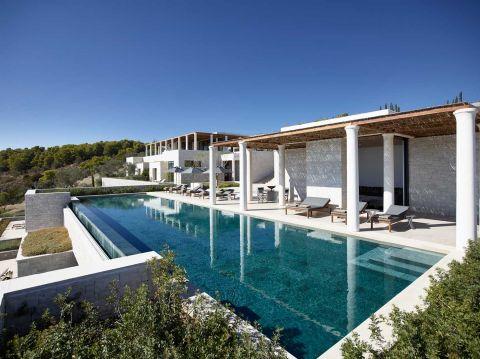 5 Bedroom Villas at Amanzoe Resort Porto Heli