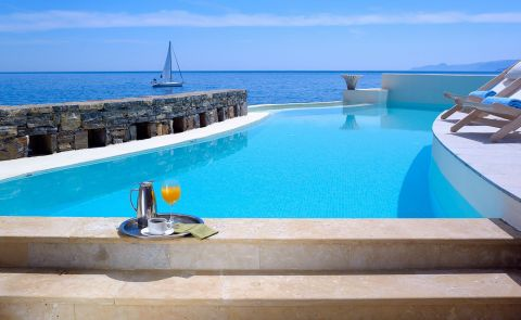 Rock Suite at St. Nicolas Bay Resort Crete