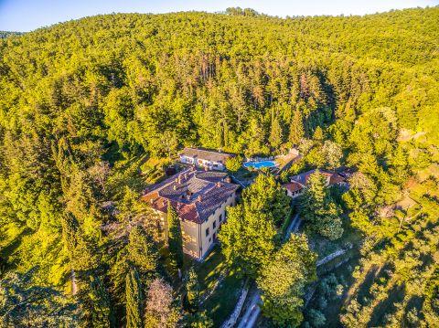 Villa Montedomini Tuscany