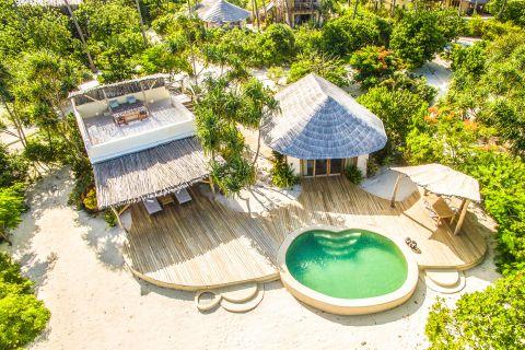 Beachfront Villa at Zanzibar White Sand Luxury Villas