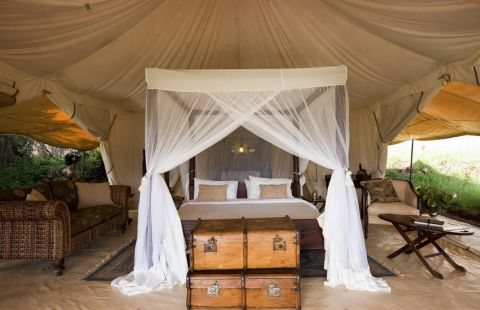 Cottar's 1920's Camp - Honeymoon Tent